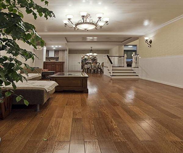 无缝木地板