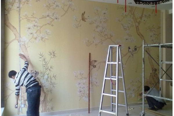 墙纸怎么贴