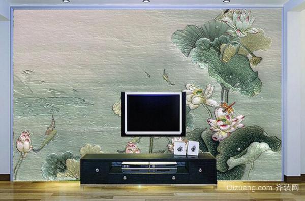 硅藻泥电视背景墙优势