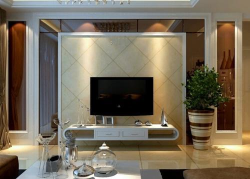 客厅瓷砖背景墙装修方法 客厅背景墙装修材料有哪些