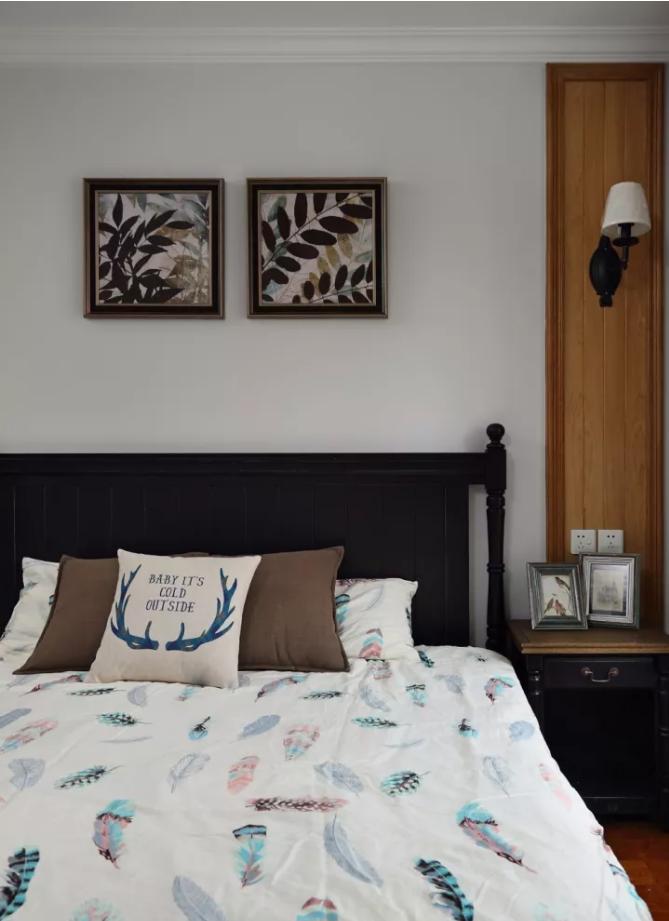 舟山两居室96平休闲美式风二手房装修效果图