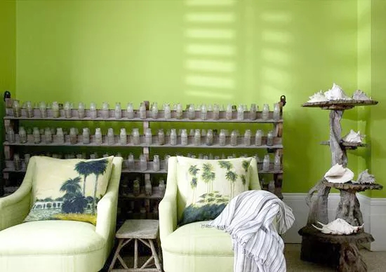 自然气息沙发墙