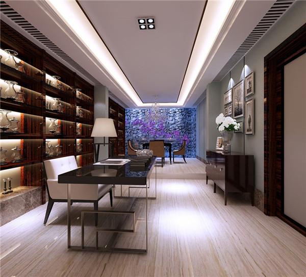 地下室书房装修案例