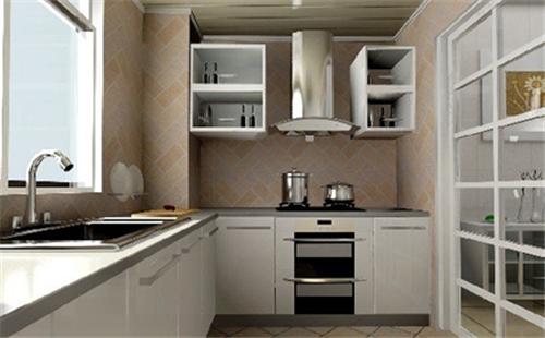 厨房虽小,也能设计出好的美感来
