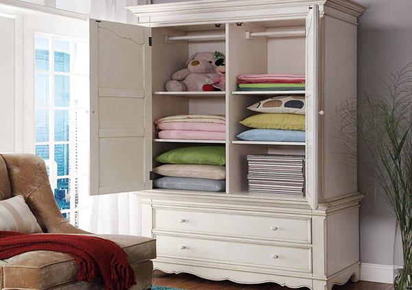儿童实木衣柜的选购技巧 儿童安全要重视