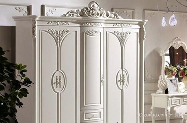 德维尔宫廷古雕米尼年堡衣柜