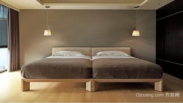 卧室地板颜色配搭