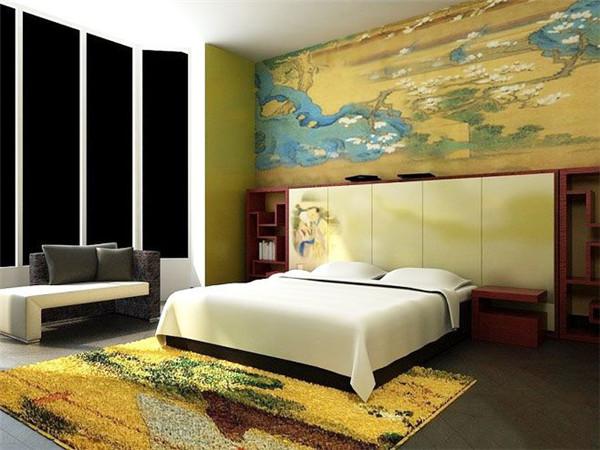 卧室地毯怎么搭配