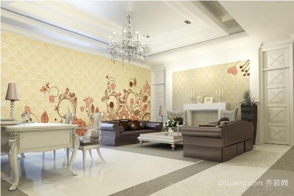 家装壁纸选购注意事项 家装壁纸效果图