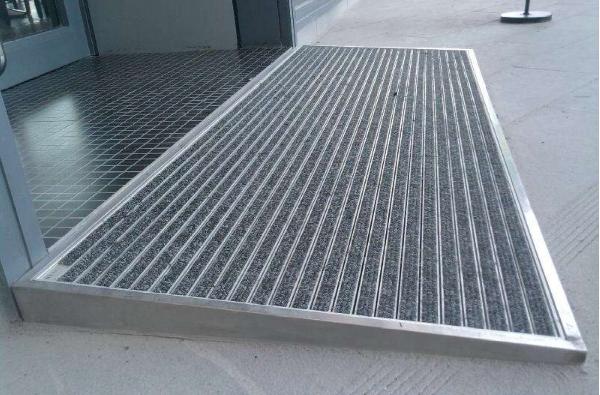 铝合金防尘地垫