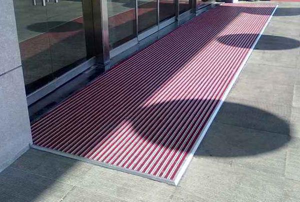 铝合金防尘地垫的优势介绍