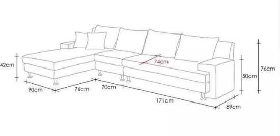 客厅沙发摆放