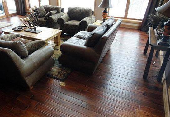 有纹理的木地板不好打扫卫生