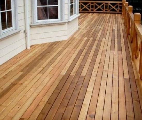 防腐木地板保养