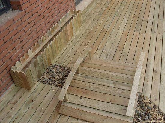 防腐木地板价格