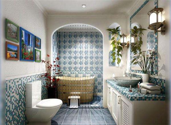 地中海风格浴室装修