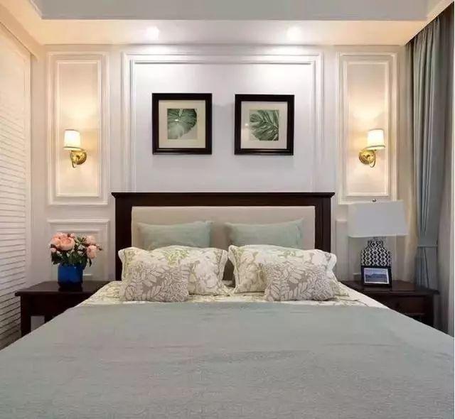 卧室床头植物装饰画