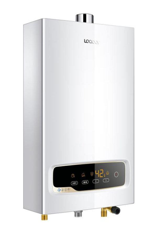 将热量传递到流经热交换器的冷水中,以达到制备热水目的的一种燃气图片