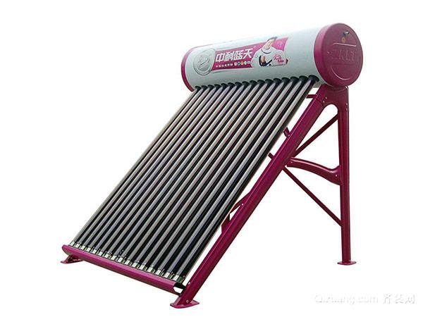 太阳能热水器的清洗