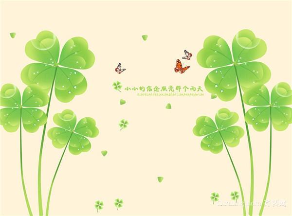 四叶草是我们身边比较常见的一种植物,其四叶草是属于车轴草属植物,其中还包括三叶草属的稀有变种植物。依稀记得,在众多三叶草中寻找那的四叶草的感觉。如果得到它就能得到幸运。那么你知道四叶草的花语是什么吗?本文就为大家简单的介绍一下!  一、不同叶子 四叶草的花语有很多,其中它的美意片叶子都有自己独特的含义:片叶子代表真爱;第二片叶子代表付出;第三片叶子代表名誉;第三片叶子代表财富。还有一种意义是,四片叶子分别代表:希望,信心,爱,幸运。倘若能够拥有这四种东西,那就代表着是很幸运的了。  二、不同国家 四叶草在