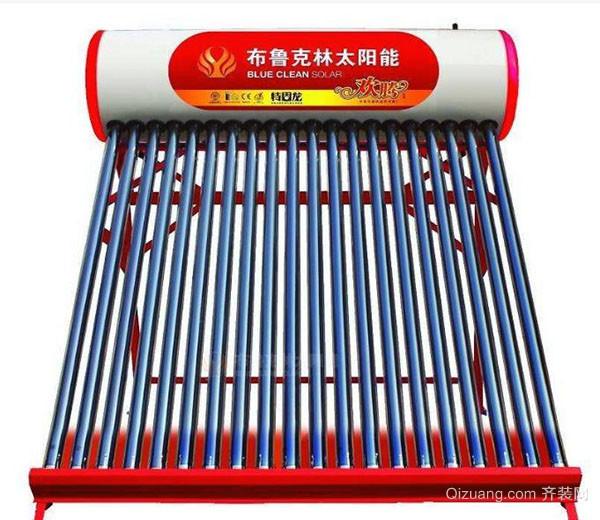 自制太阳能热水器