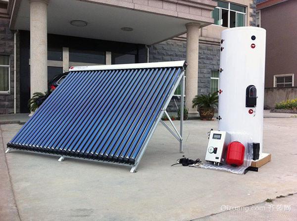 分体式太阳能热水器缺点