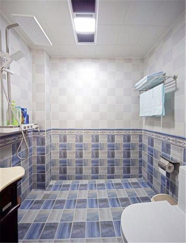 美式卫生间装修效果图
