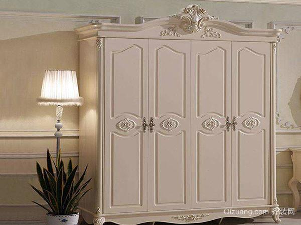 式家具衣柜都有复杂而精美的雕刻花纹,洛可可式家具衣柜虽然也很注重