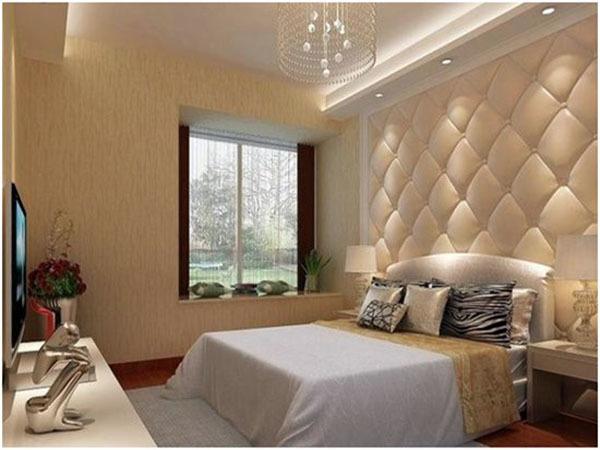 家装床头软包背景墙