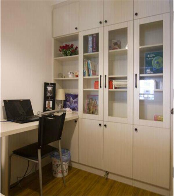 85㎡小三房装修 全屋定制柜子真漂亮