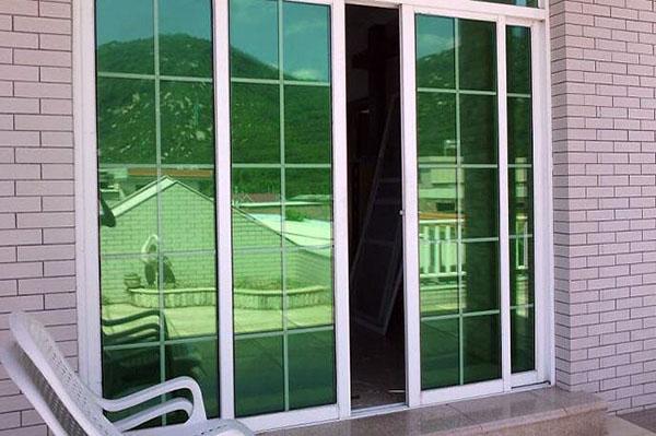 玻璃窗贴膜的作用
