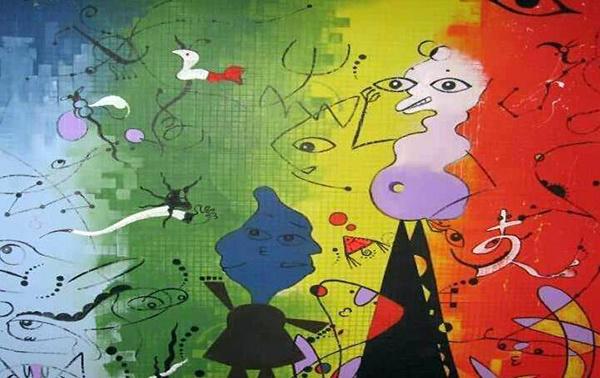 手绘墙画颜料