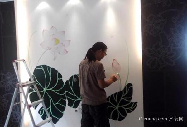 手绘墙画用什么颜料