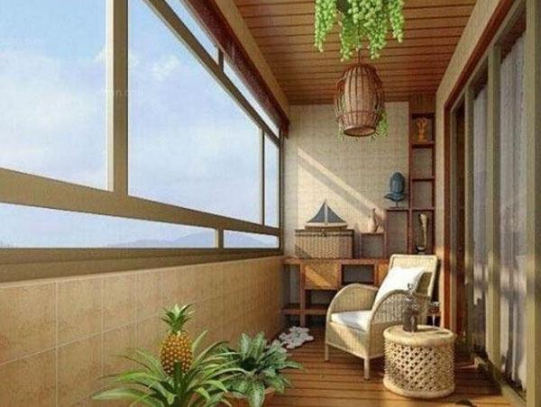 小阳台装修方法