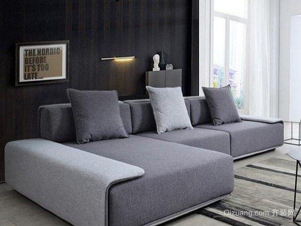 现代风格布艺沙发