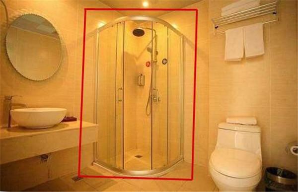 浴室装浴帘