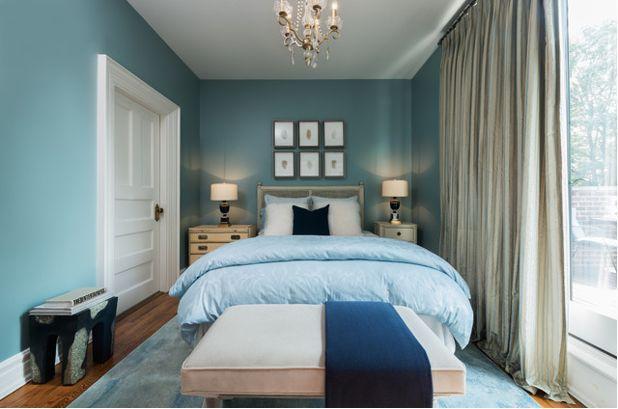 海洋色卧室装修