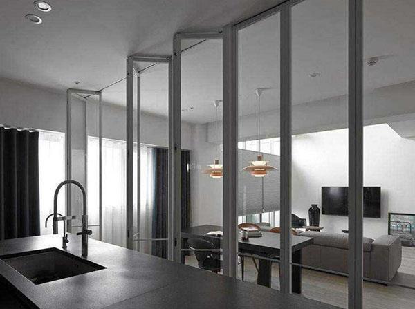 厨房折叠门安装方法介绍