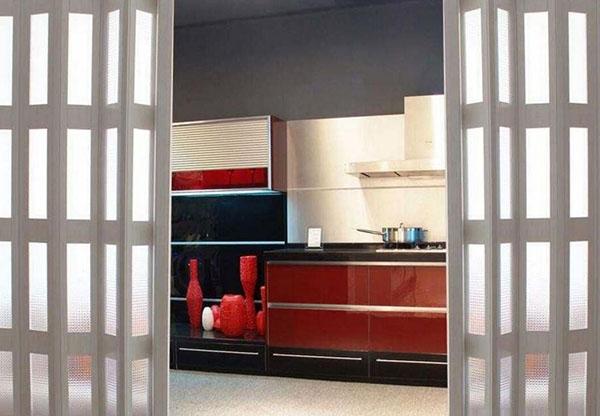 厨房折叠门安装方法