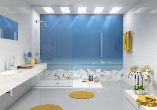 透明玻璃分隔间