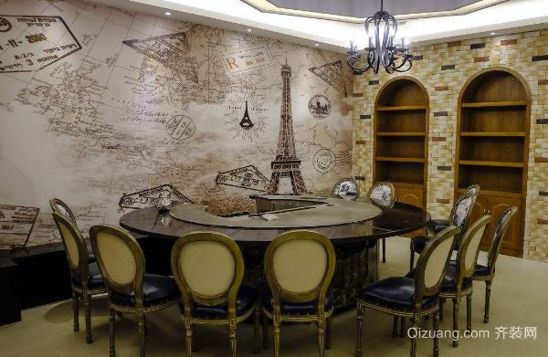 餐厅墙绘风格有哪些