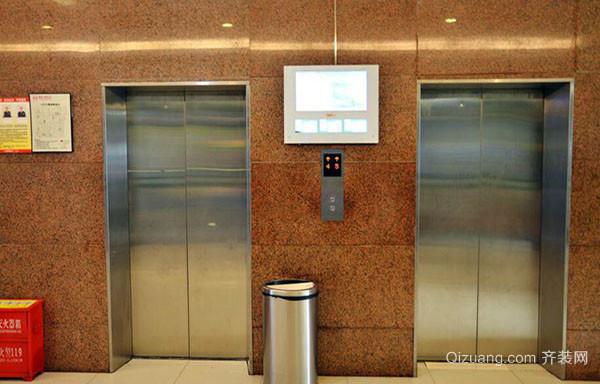 使用电梯门