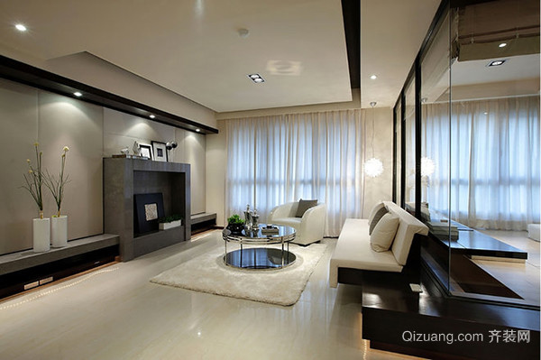客厅混搭风格装修元素