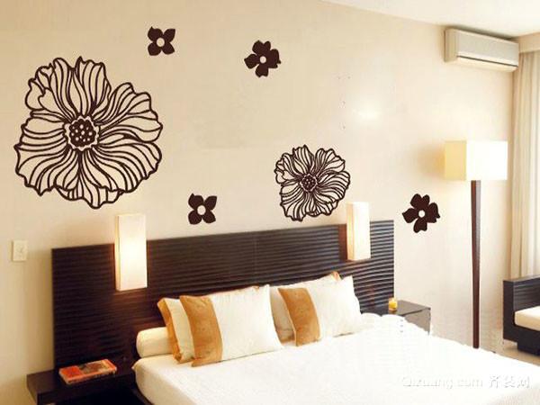 卧室简约创意手绘墙画怎么设计 让卧室更创意