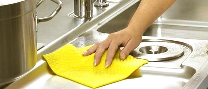 洗碗池清洁
