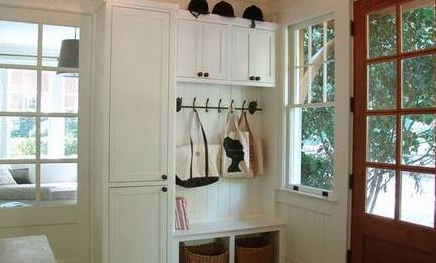 玄关嵌入式鞋柜