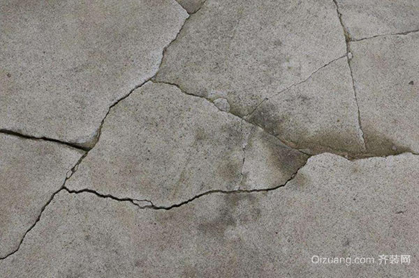 水泥地面裂缝维修