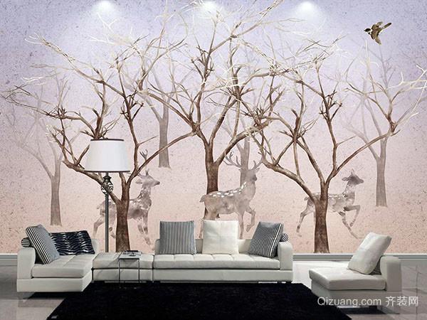在墙体手绘图案,可以选择墙漆或者丙稀涂料,当然手绘墙还有其它很多