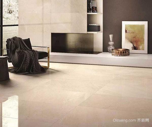 客厅瓷砖铺设