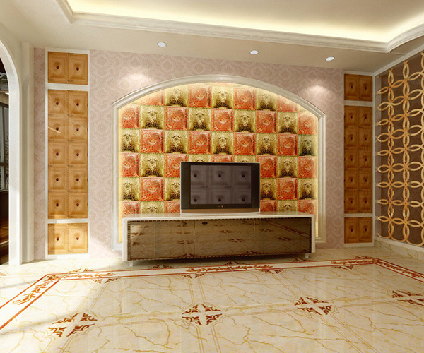 铺设客厅瓷砖方法